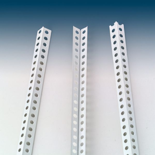 GUARDAVIVO PERFORADO PVC 2,5MT -- 440250